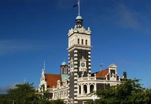 Gare Dunedin -Circuit Nouvelle Zélande