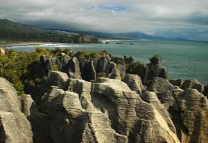 Punakaiki pancake rocks -Circuit Nouvelle zélande
