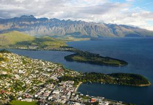 Queenstown-Circuit Nouvelle Zélande