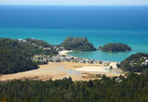 Circuit Nouvelle zélande -parc Abel Tasman - Kaiteriteri plage