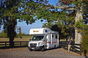 Camping-car Britz Explorer 4 places