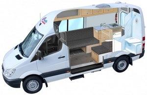 Camping-car Pacific Horizon 2+1