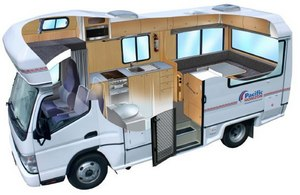 Camping-car Pacific Horizon 4+2