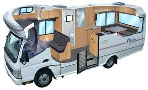 Camping-car Pacific Horizon 6 places