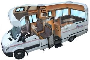Camping-car Pacific Horizon SAM 6 places