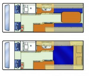 NZ Trailblazer Floorplan
