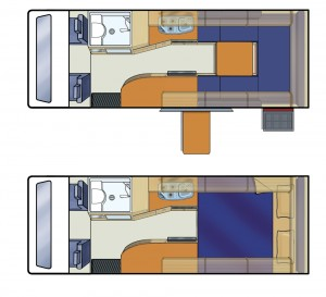 NZ Venturer Floorplan