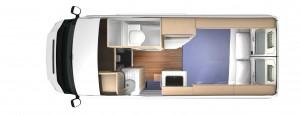 Trailblazer 1516 Floorplan NIGHT