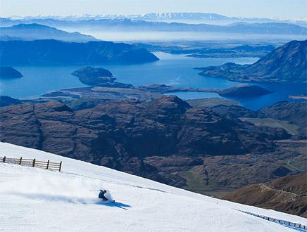 Séjour ski 8 jours à Wanaka