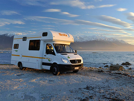 Camping-car Britz Frontier 6 places