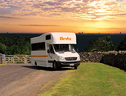 Camping-car Britz Outbounder 4 places