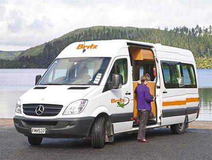 Camping-car Britz Venturer Plus 2+1 places