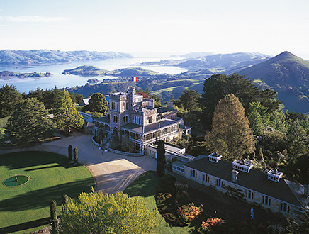 French Rendez-vous at Larnach Castle